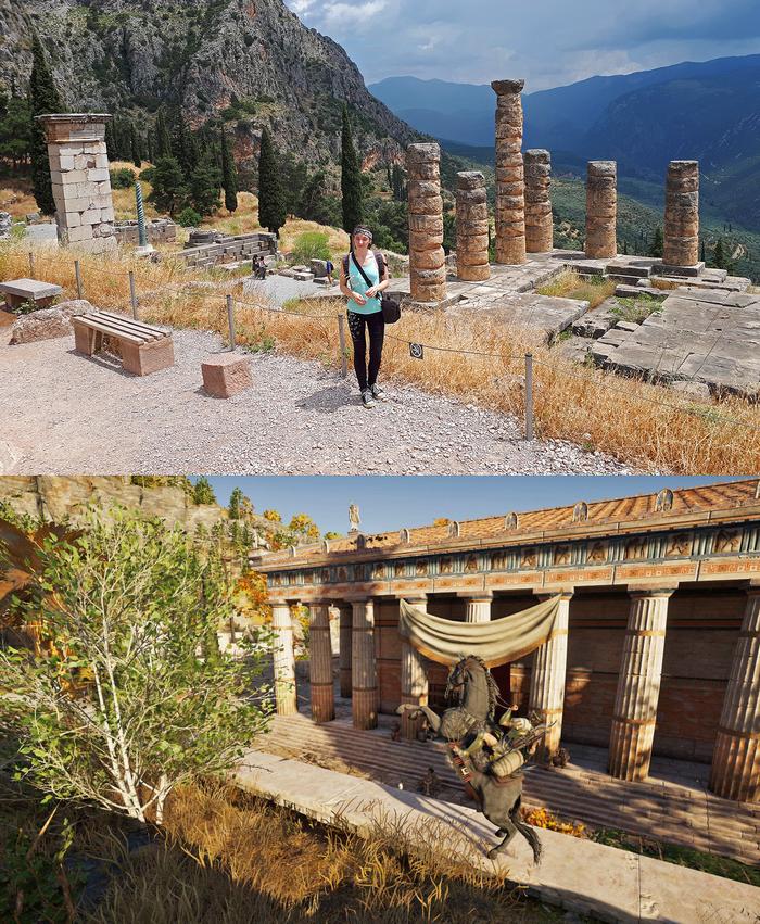 Assassin's Creed Odyssey в реальности - Дельфы Assassins Creed, Assassins Creed Odyssey, Длиннопост, Греция, Античность, Путешествия