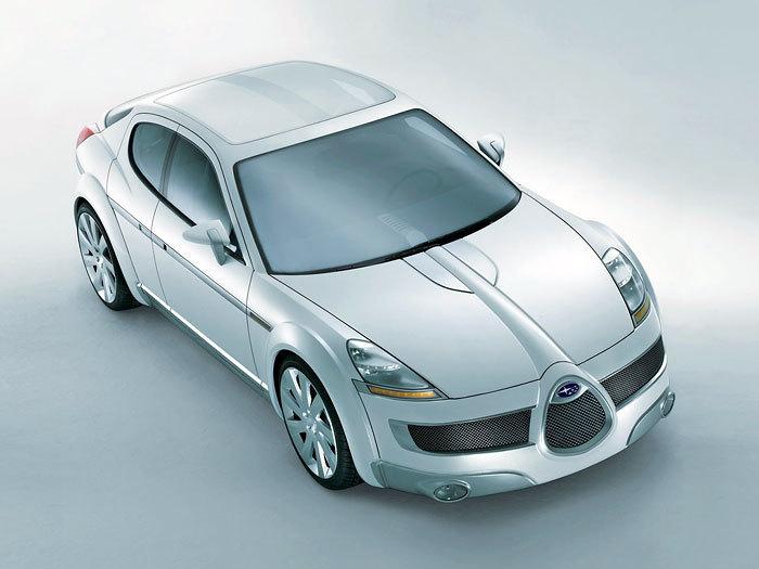 Автоистории:Subaru B11S концепт 2003 года Авто, Subaru, Концепт, Длиннопост
