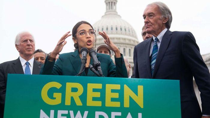 Новая зеленая сделка - предложена конгрессменами-демократами в США Демократы, США, Зеленые, Левые, Политика