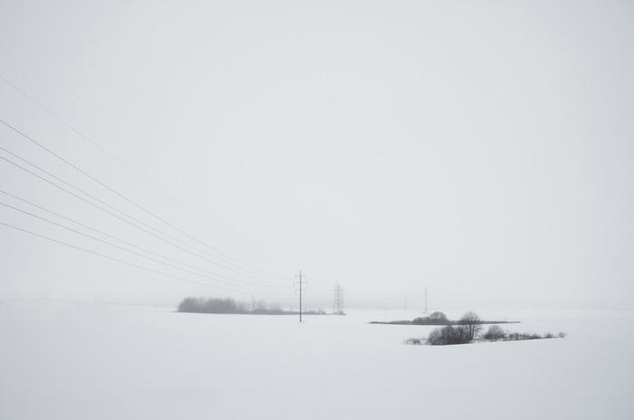 Зима. Зима, Фотография, Минимализм