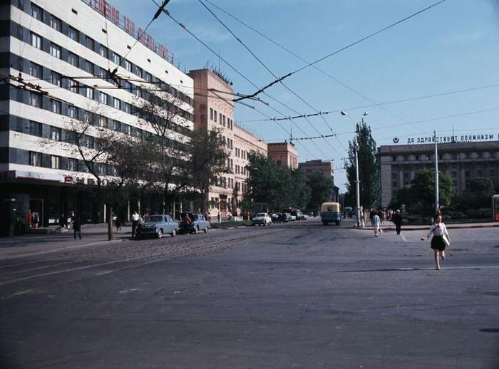 УССР Донецк 1967 год Донецк, СССР, Историческое фото, 60-е, Длиннопост