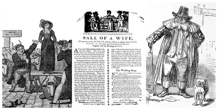 Жёны на продажу Англия, Прошлое