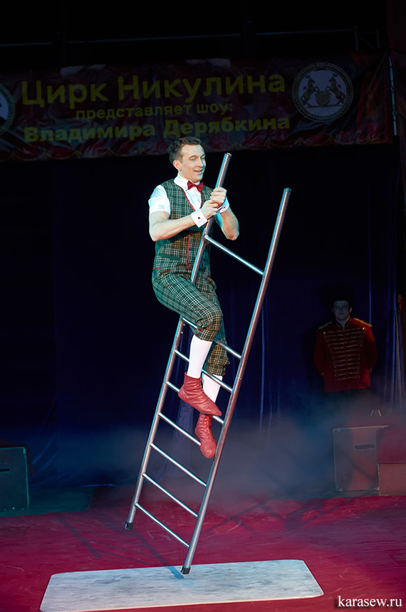Из серии - кто на стройке работал, в цирке не смеётся... Лестница, Перфоратор