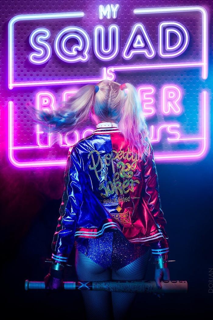 Harley Quinn by Rainbow Berry Косплей, Русский косплей, Красивая девушка, DC, DC Comics, Отряд Самоубийц, Харли Квинн, Rainbow Berry, Длиннопост
