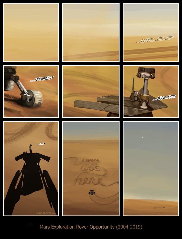 Oppy was here
