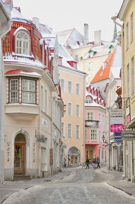 Таллинн Таллин, Старый город, Длиннопост