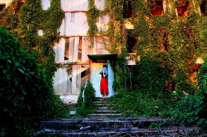 Брошенный ДОЛ в Крыму Заброшенное, Заброшенное место, Заброшенный дом, Крым, Крым наш, Море