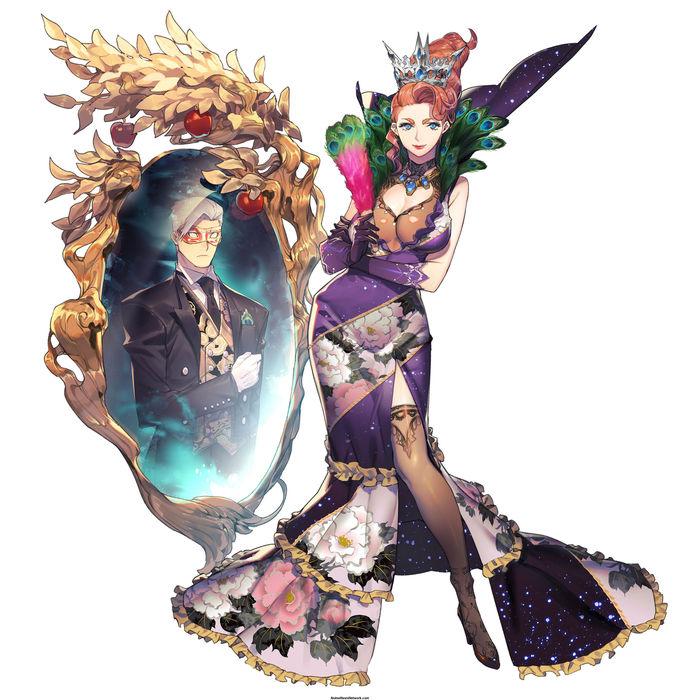 Wicked Queen Аниме, Anime Art, Wicked Queen, Revolve8, Sega