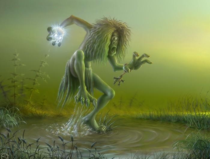 Лихо Мифология, Славянские духи