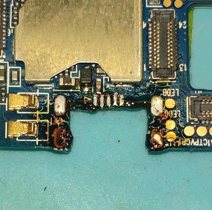 Замена разъема на Oukitel C3. Пошагово. Разъем, Пайка, Ремонт техники, Ремонт телефона, Длиннопост