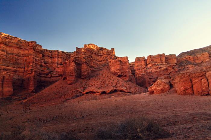 Чарынский каньон Казахстан, Чарынский каньон, Пейзаж, Автопутешествие, Длиннопост