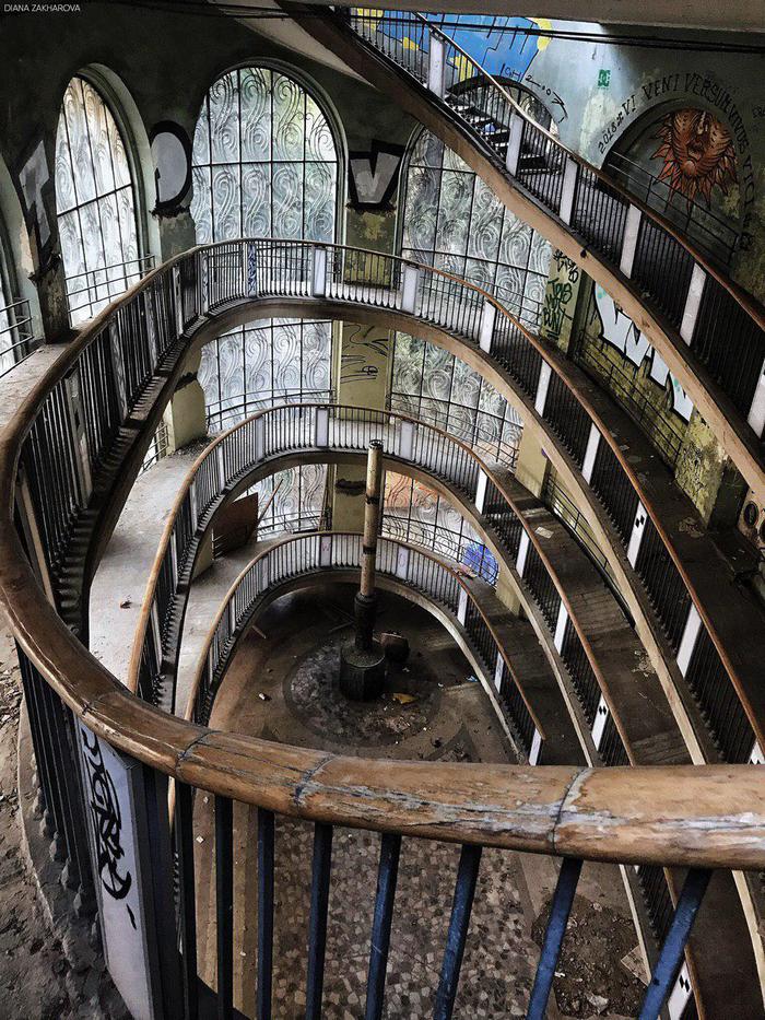 Заброшенный фуникулер в Тбилиси Тбилиси, Грузия, Начинающий фотограф, Фотография, Сталкеринг, Длиннопост