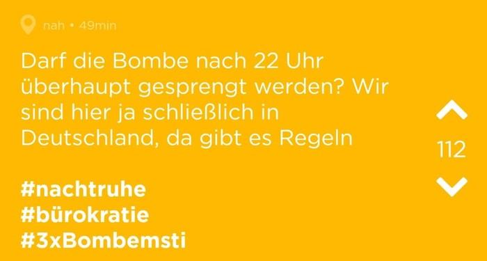 До скольки можно взрывать бомбу? Бомба, Германия, Немцы