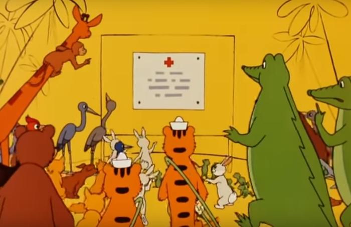 О бегемотах, желтухе и медицинской этике Мультфильмы, Прививка, Бегемот, Медицинская этика, Желтуха, Длиннопост