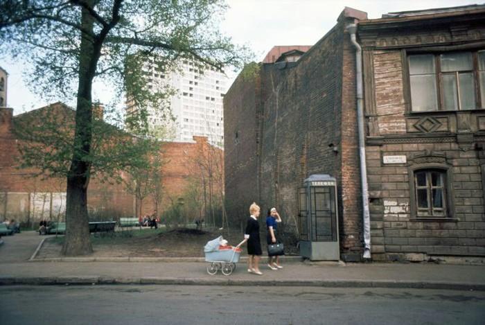 Москва 1967 год Москва, СССР, История в фотографиях, 60-е, Длиннопост, Арбат, Останкинская башня