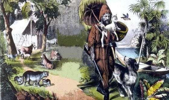 5 историй реальных робинзонов Робинзон, Борьба за выживание, Необитаемый остров, Истории, Длиннопост