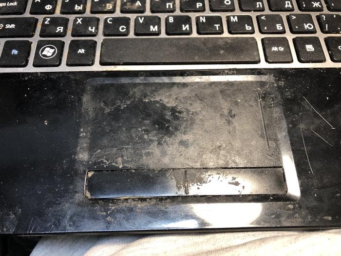 И снова принесли в ремонт ухоженную технику Ноутбук, Ремонт, Работа, Грязь, Длиннопост