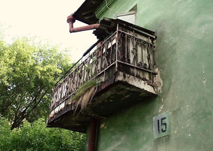 Вид с балкона Сгинь, Длиннопост, Рассказ, Авторские истории, Вера, Завтра, Пенсия
