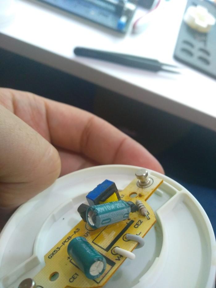 Ремонт Led лампочки. Ремонт ради ремонта. Ульяновск, Led, Ремонт техники, Длиннопост