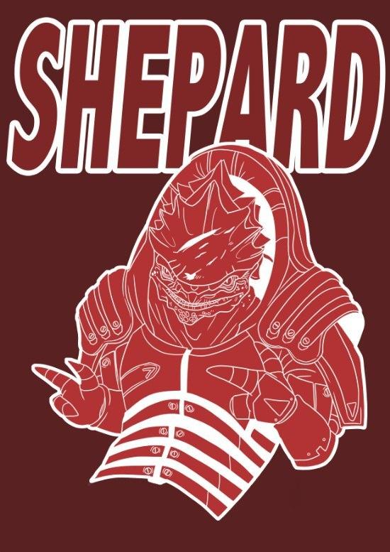 Лучшие приятели. Если конечно, на Вермайре не... Mass Effect, Шепард, Длиннопост, Wrex