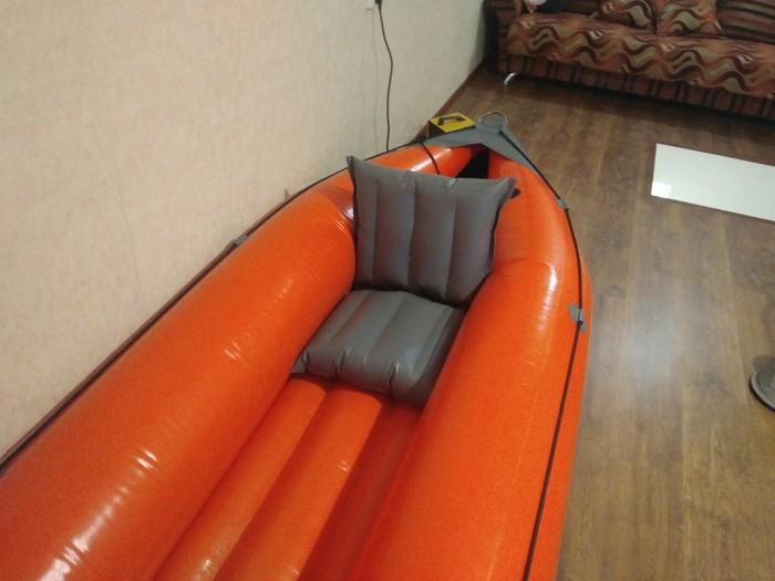 Сиденье надувное для байдарки Своими руками, Надувная лодка, Рафтинг, Туризм, Лодка, Рыбалка, Хобби, Видео, Длиннопост