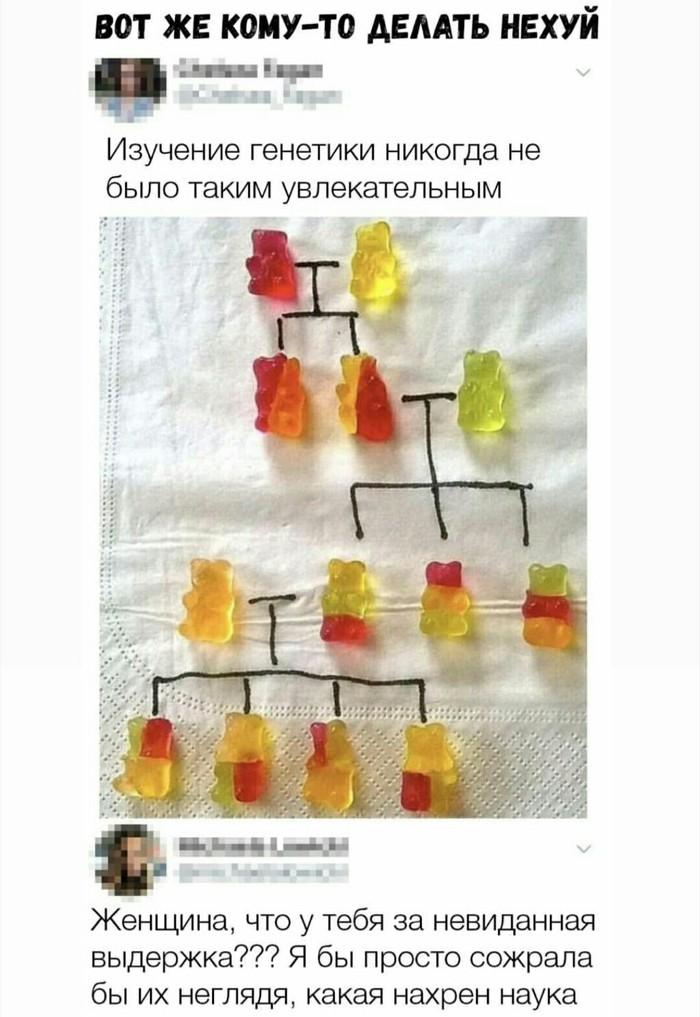 Изучение генетики