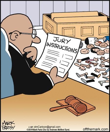 Инструкция для присяжных