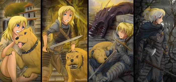 Путь Героя Dragon Age, Dragon Age: Origins, Серый страж, Архидемон, Длиннопост