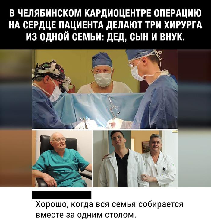 Семья Операция, Хирург, Семья, Праздничный стол