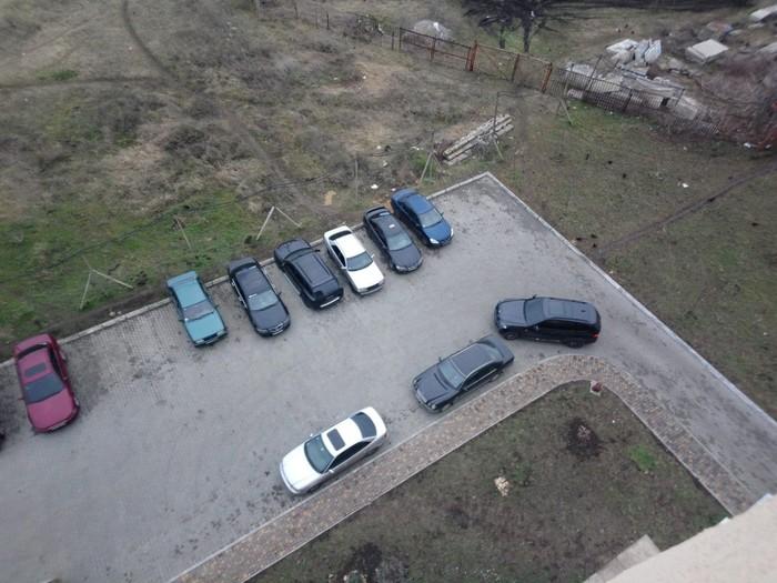 """Уровень парковки """"Бог"""" Неправильная парковка, Мастер парковки, Новостройка, Длиннопост"""