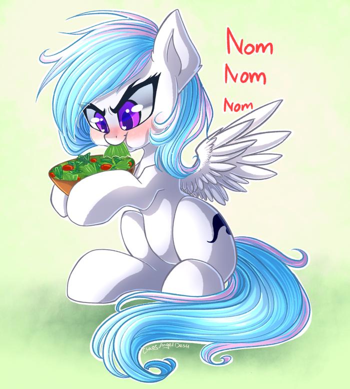 Агрессивное Травоедение My Little Pony, Original Character, Chaosangeldesu