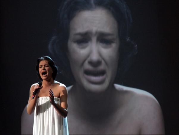Украинская певица Приходько жалеет, что участвовала в «Евровидении» от России Украина, Политика, Евровидение, Хренегознаетктоэто
