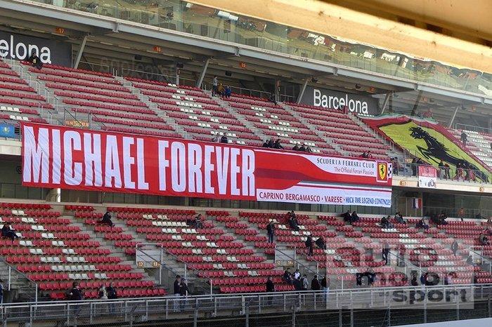 Michael Forever - Scuderia Ferrari Club Michael Forever, Формула 1, Баннер, Scuderia Ferrari Club