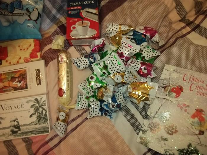 Анонимный Дед Мороз не дремлет) Обмен подарками, Отчет по обмену подарками, Длиннопост