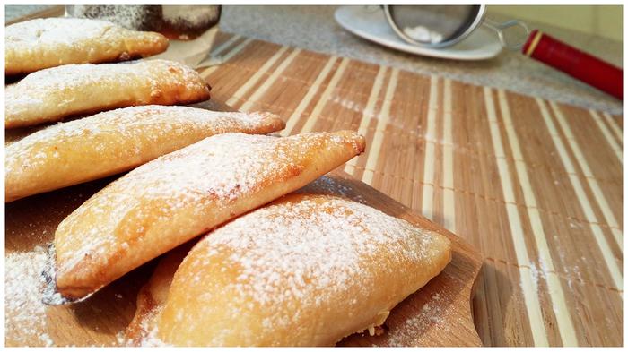 Печенье с творожной начинкой. Печенье, Выпечка, Видео, Длиннопост, Творог, Рецепт, Кулинария