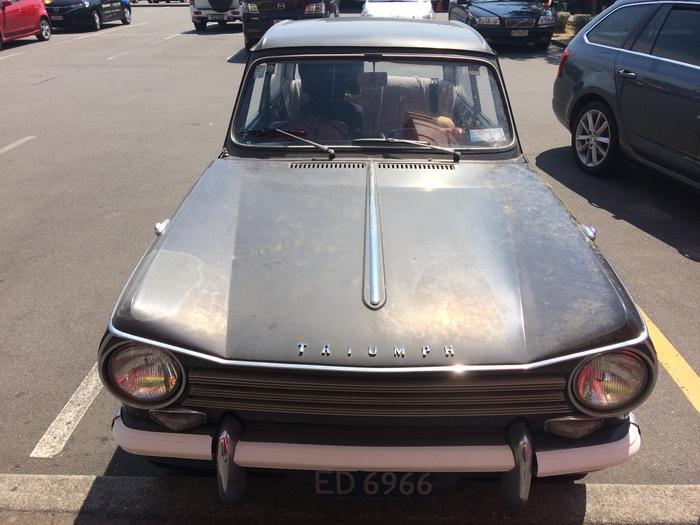 "Triumph Herald 13/60 ""Вестник"" Triumph Herald 1360, British cars"