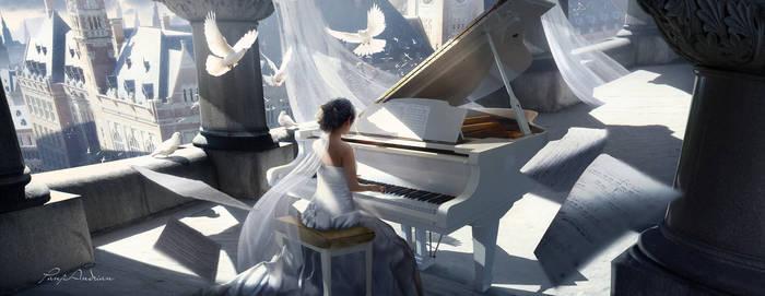 Wedding day Deviantart, Арт, Фотоманипуляции