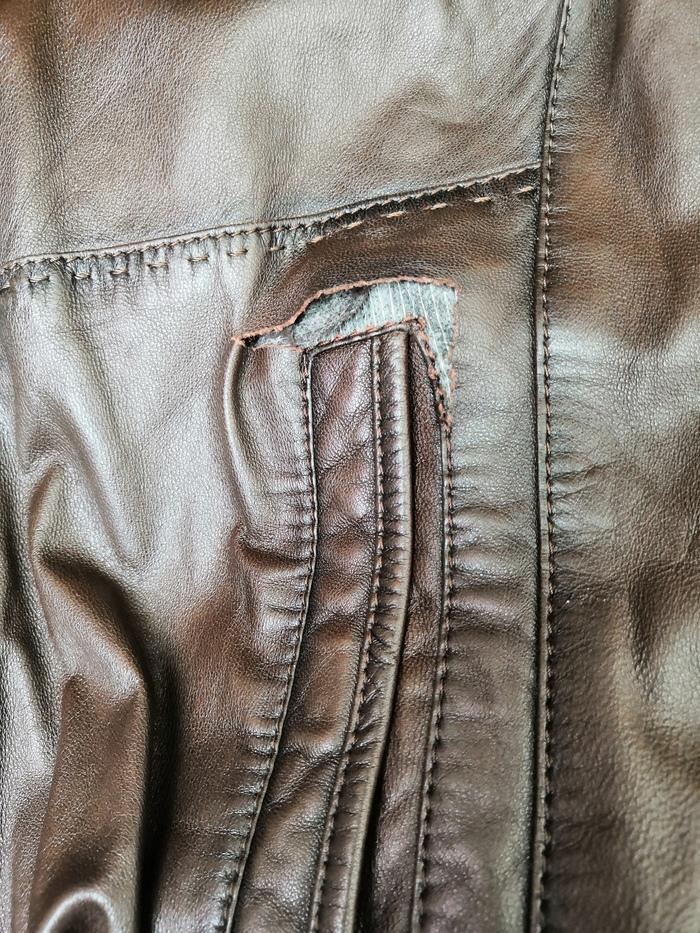 Помогите починить куртку! :) Москва Ремонт одежды, Кожаная куртка, Без рейтинга