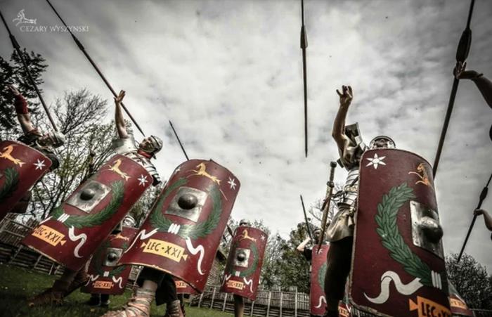 Легион «Хищник» — стремительный и мятежный Лига историков, Древний Рим, Legio XXI Rapax, Историческая реконструкция, Видео