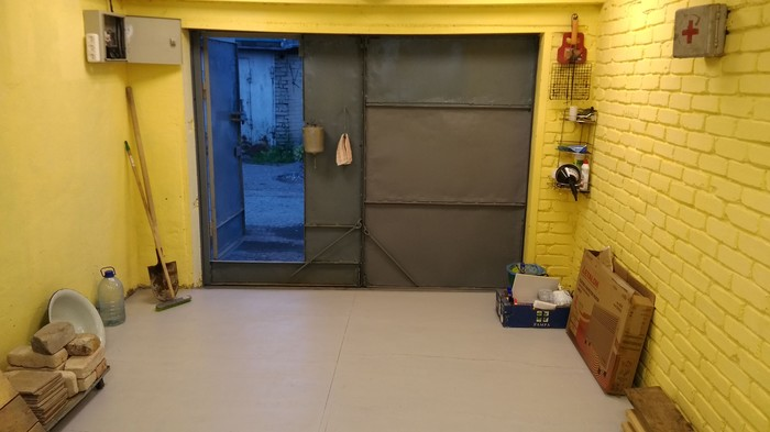 Фотолокация в гараже Фоны для фотостудии, Опрос