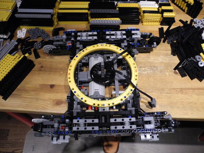 Кран Liebherr LR1100 (лего самоделка) LEGO, LEGO technic, Кран, Liebherr, Видео, Длиннопост, Вертикальное видео
