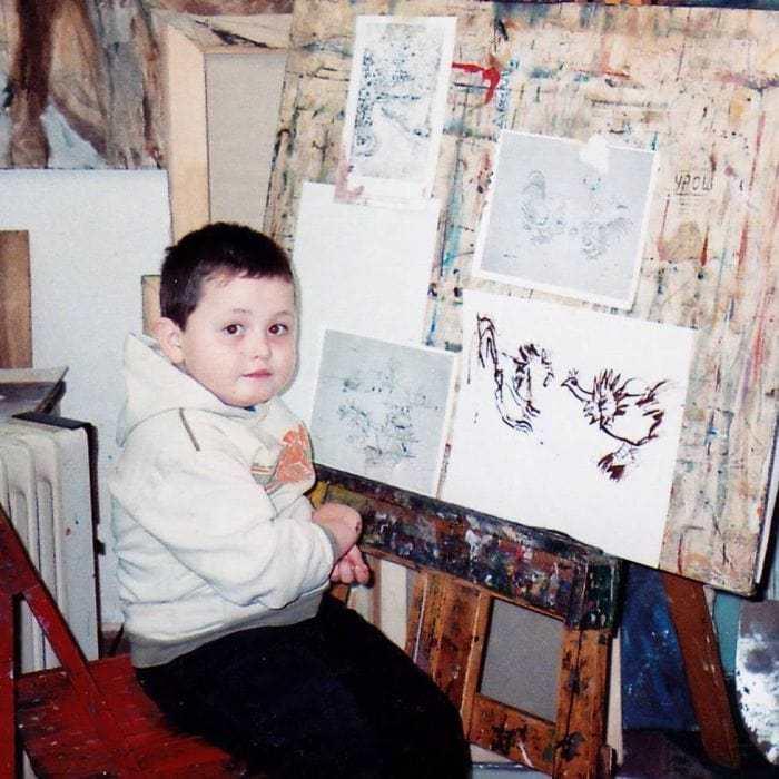 Этот сербский мальчик с 2 лет мечтал быть художником. Сейчас ему 16, и прогресс просто поразительный Душан Кртолица, Художник, Сербы, Длиннопост