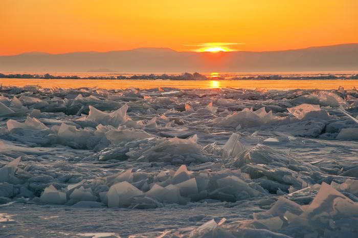 И снова лед. Nikon, Байкал, Лед, Длиннопост