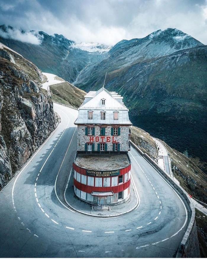 Интересный отель в Щвейцарии