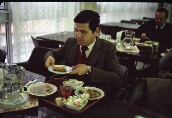 Обед в СССР