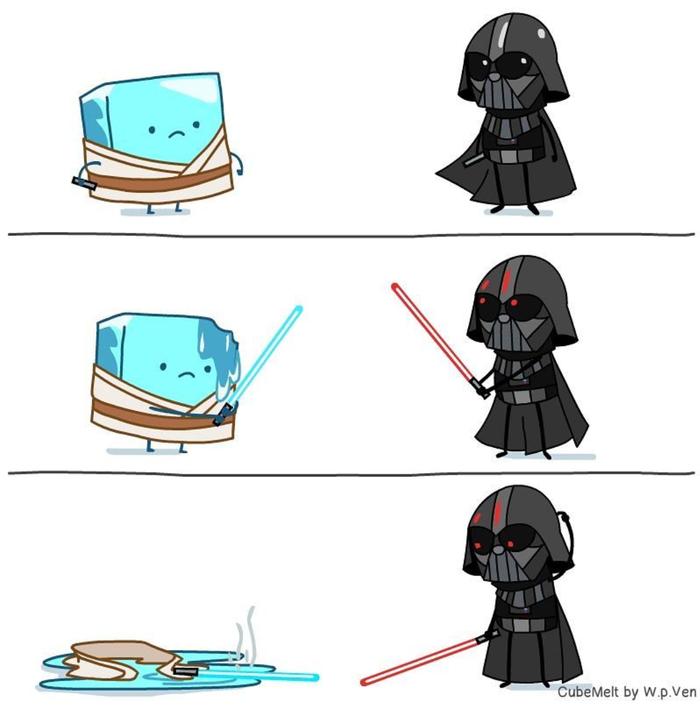 Льдинка и Stars Wars Комиксы, Лед, Star Wars