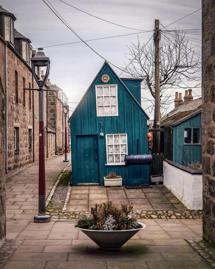 Абердин, Шотландия, Великобритания.