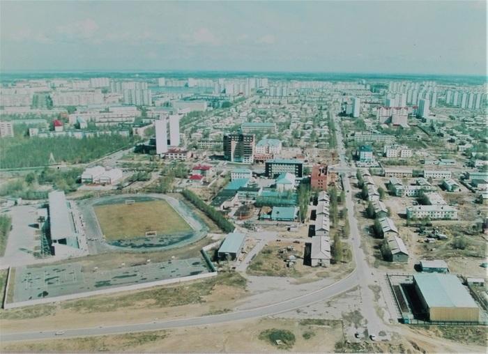 Взгляд из прошлого... Нижневартовск, Север, Город, Фотография, Прошлое, Панорама, Назад в прошлое, Длиннопост