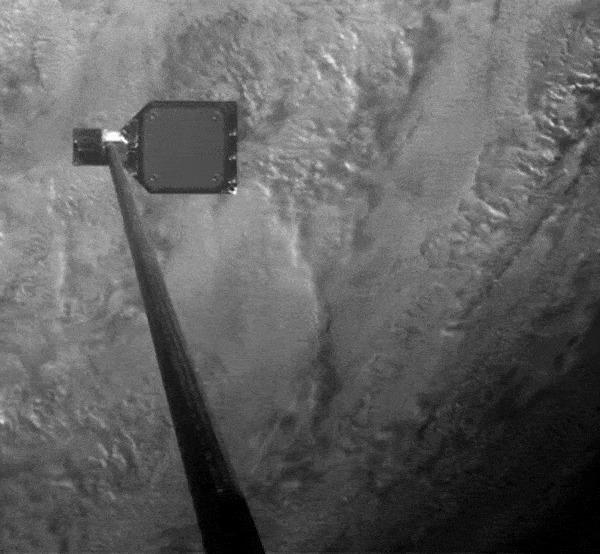Успешные испытания гарпуна для сбора космического мусора Космос, Космический мусор, Спутник, Гифка, Длиннопост