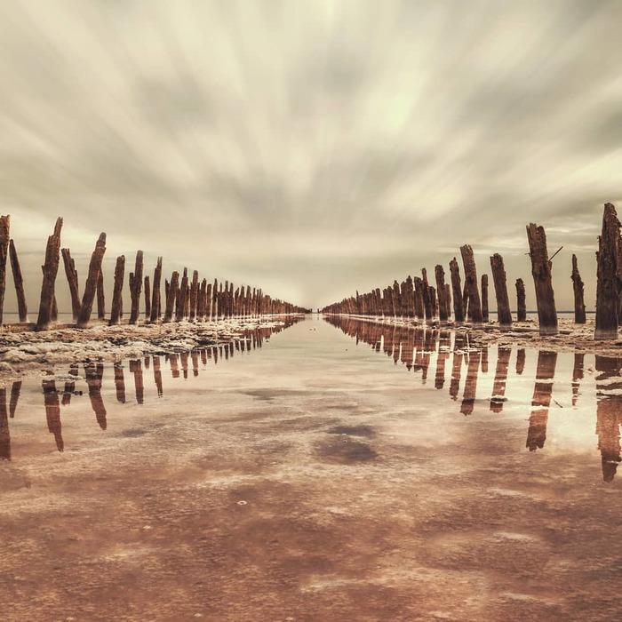 Красная планета Крым, Картинки, Озеро, Ракурс, Красота